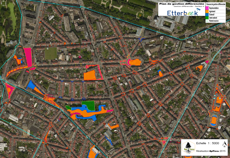 Plan gestion différenciée Etterbeek